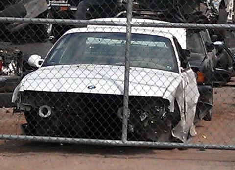 BMW Graveyard
