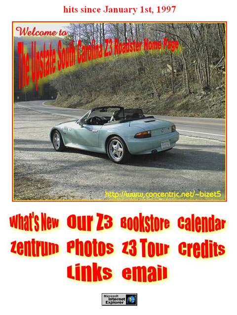 The Upstate South Carolina Z3 Roadster Home Page