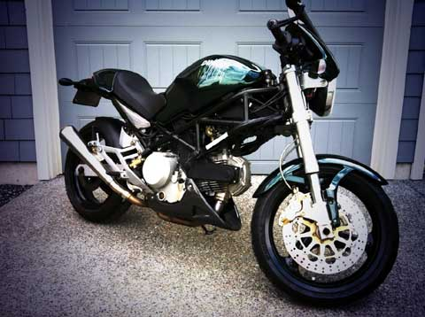 Ducati Monster Matrix Edition